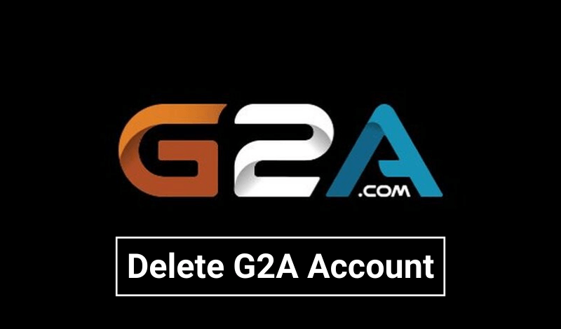 delete G2A account