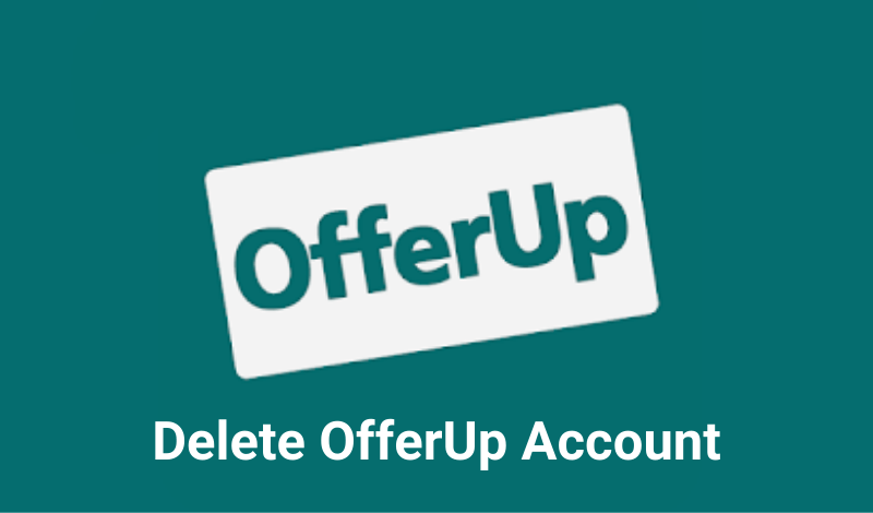 Delete OfferUp Account