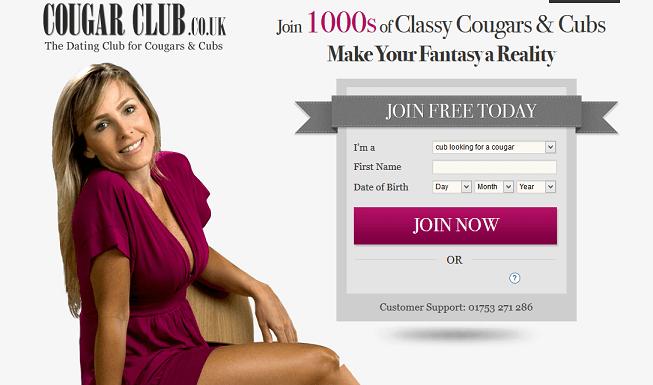 Cougarclub website