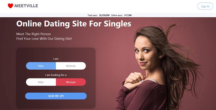 Meetville website