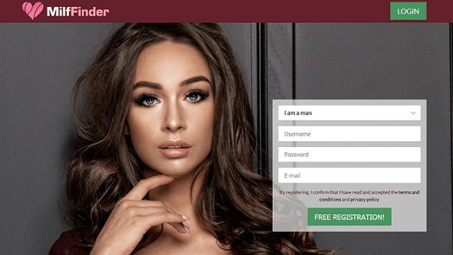 Milffinder website
