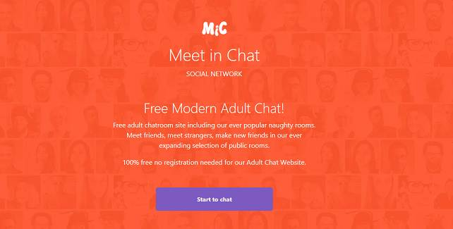 Meetinchat adult chat site