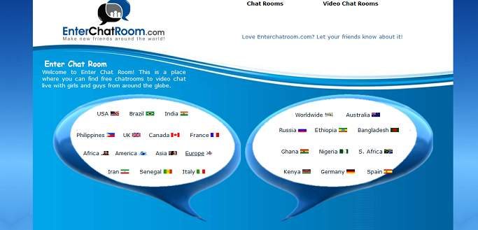 EnterChatRoom Chat Rooms for Adults