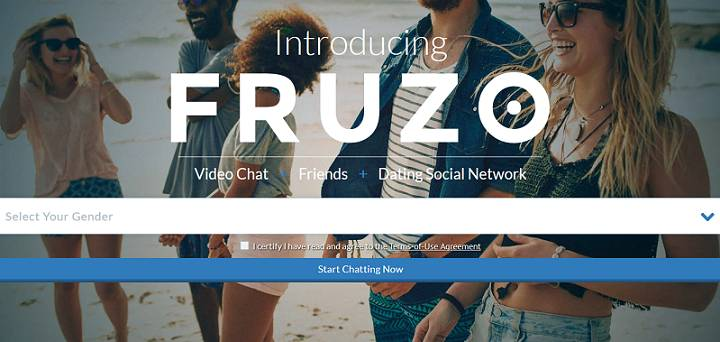 Fruzo website