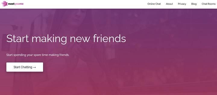 Meetyou.me website
