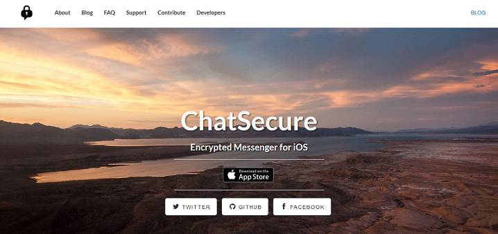 ChatSecure website