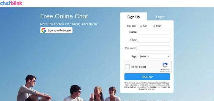 Chatblink website